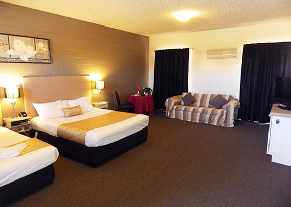 Comfort Inn & Suites King Avenue Zimmeransicht