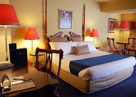 Clarion Hotel On Canterbury Vista do quarto