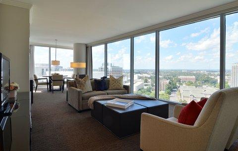 فندق أتلانتا - Grand Luxury Suite Living Area