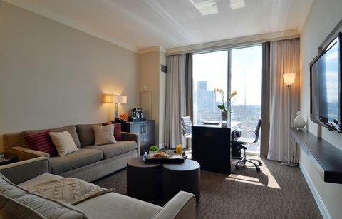 فندق أتلانتا - Grand King Suite Living Area