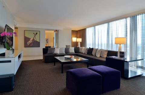 فندق أتلانتا - Vice Presidental Living Space