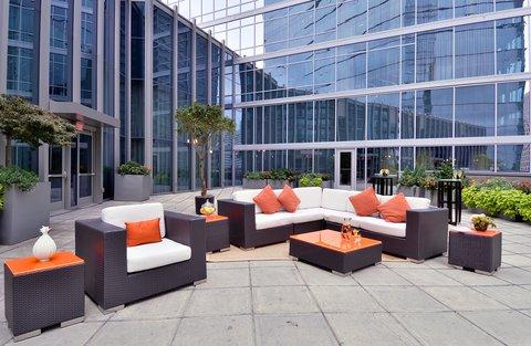 فندق أتلانتا - Terrace