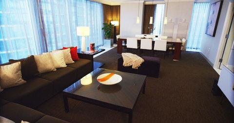 فندق أتلانتا - Vice Presidential Suite Living Area