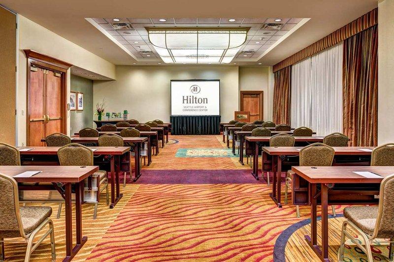 Hilton Seattle Airport & Conference Center Pomieszczenie konferencyjne