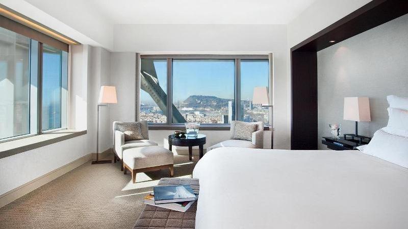 The Ritz Carlton Hotel Arts Barcelona Huonenäkymä