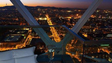 فندق آرتس برشلونة - Barcelona At Night