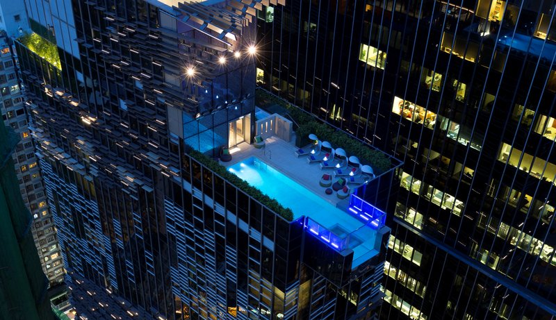 Hotel Indigo Hong Kong Island Exterior view