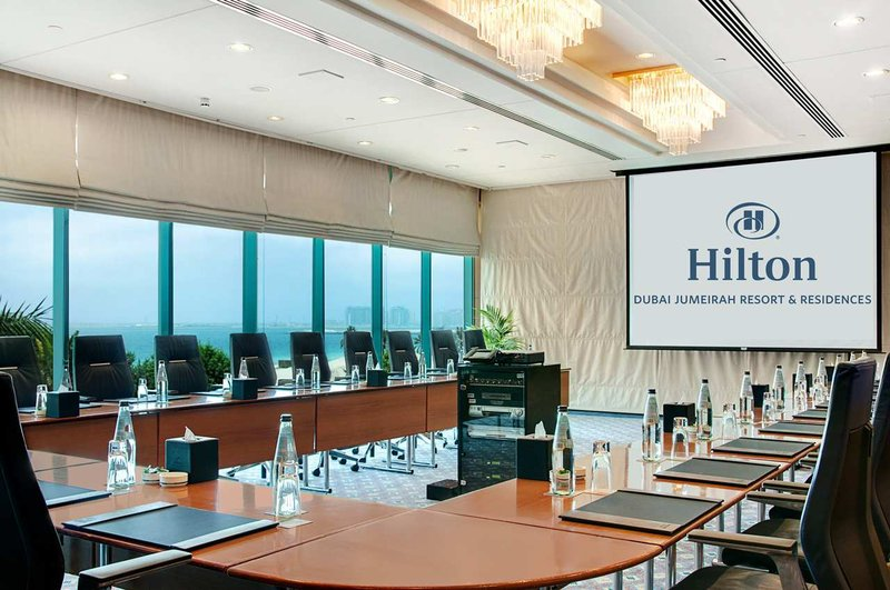 Hilton Dubai The Walk. 会議室