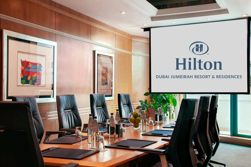 Hilton Dubai The Walk. Konferencelokale