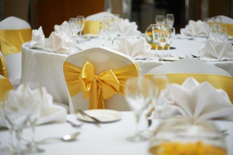 加的夫希尔顿酒店 - Atrium Wedding  Tables