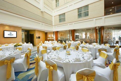 加的夫希尔顿酒店 - Atrium Wedding