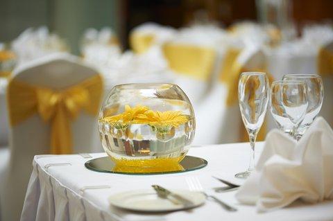 加的夫希尔顿酒店 - Atrium Wedding  Detail