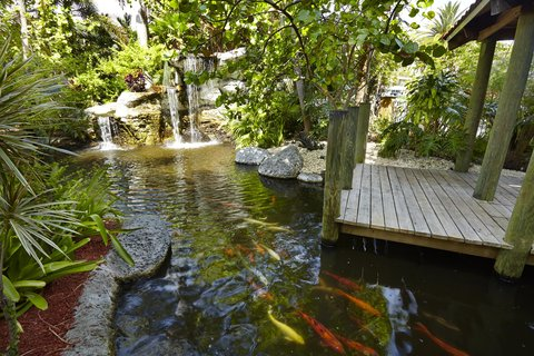 Embassy Suites Fort Lauderdale - 17th Street - Lobby Pond