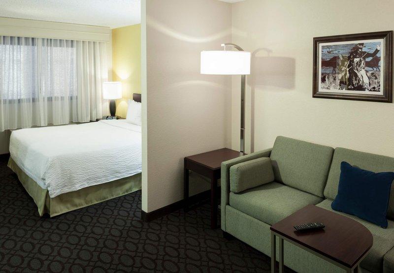 SpringHill Suites Dallas Downtown/West End Huonenäkymä