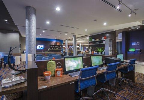 Courtyard Columbus - Business Center   Quick Print Station