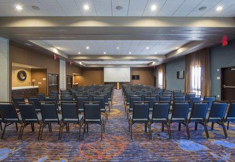 Courtyard Columbus - Castleberry Meeting Room   Theater Setup