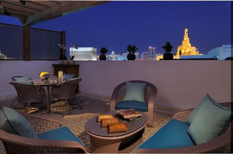 Al Najada Boutique Hotel - Terrace