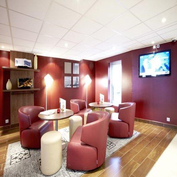 Campanile -Strasbourg - Illkirch Bar/Lounge