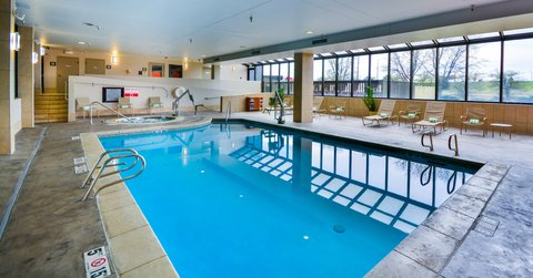 Embassy Suites Hotel-Denver Stapleton - Swimming Pool   Whirlpool