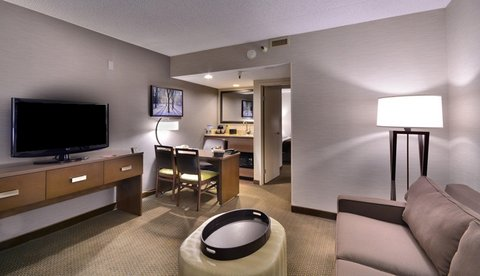 Embassy Suites Hotel-Denver Stapleton - King Suite Living Area