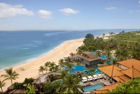 Nikko Bali Resort and Spa - Hotel View Sawangan Beach