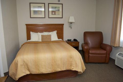 Candlewood Suites ELKHART - One Queen Bed Studio Accessible