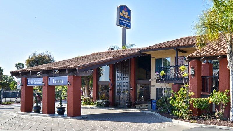 Best Western Americana Inn In San Ysidro Ca 92173