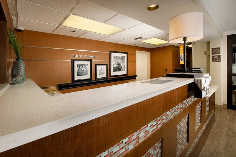 Hampton Inn Miami-Airport/West Előcsarnok