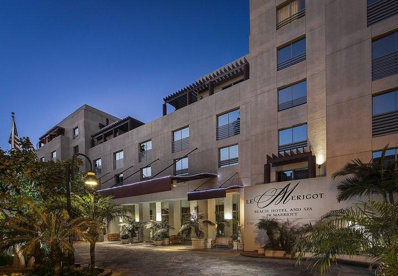 JW Marriott Le Merigot Beach Hotel & Spa Santa Monica Außenansicht