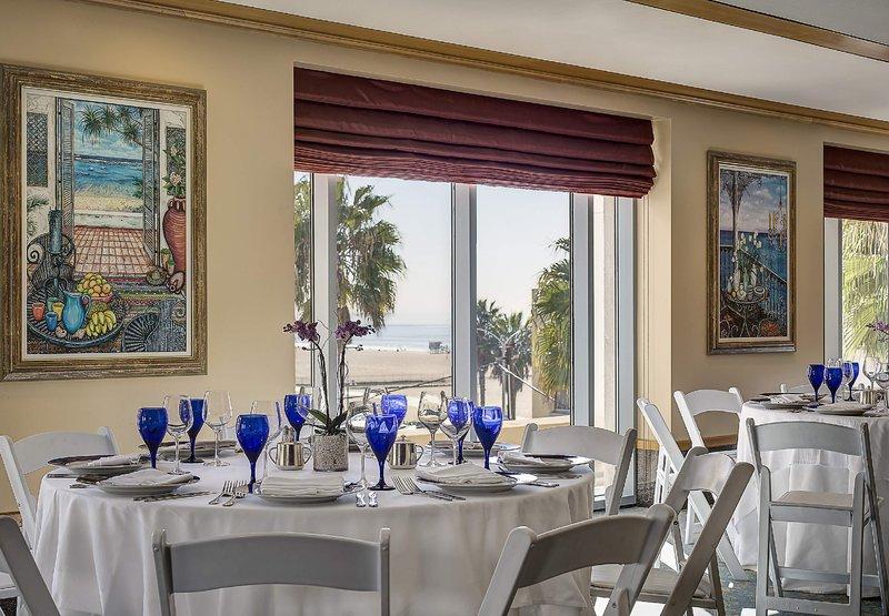 JW Marriott Le Merigot Beach Hotel & Spa Santa Monica Tagungsraum