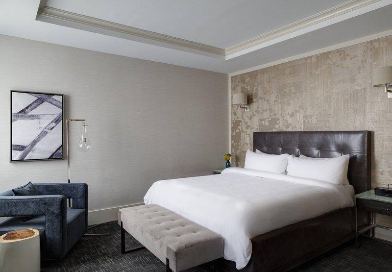 New York Marriott East Side Вид в номере