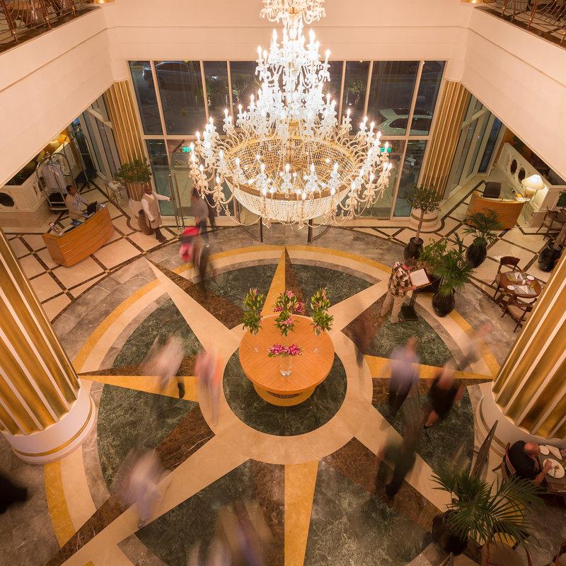 Millennium Hotel Abu Dhabi Вестибюль