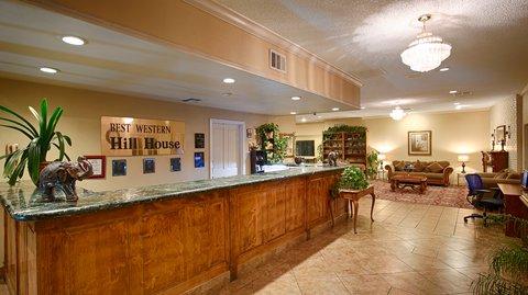 BEST WESTERN PLUS Hill House - Front Desk