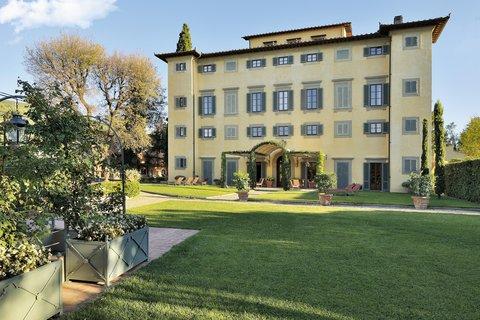 Villa La Massa - View Of The Noble Villa From The Villino