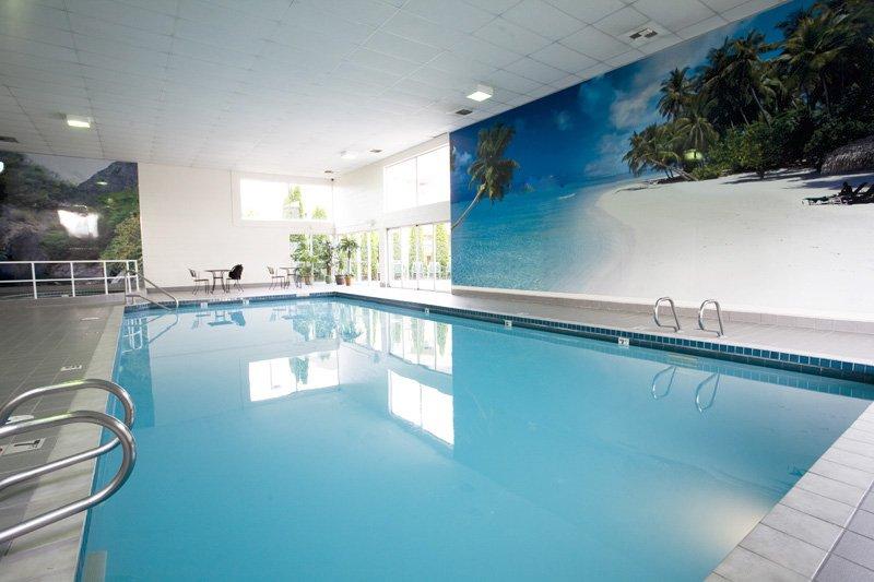 La Quinta Inn Lynnwood Вид на бассейн