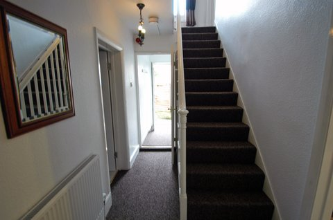 Duxford Lodge Hotel - Highfield House stairs