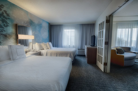 Courtyard Dallas DFW Airport North/Irving - Double Double Suite Bedroom