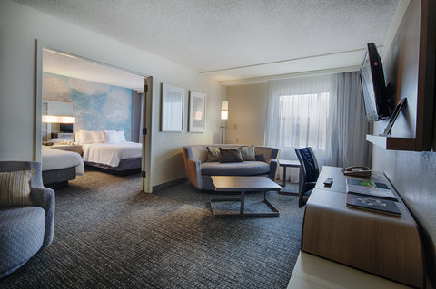 Courtyard Dallas DFW Airport North/Irving - Double Double Suite