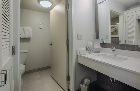 Courtyard Dallas DFW Airport North/Irving - Guest Bathroom