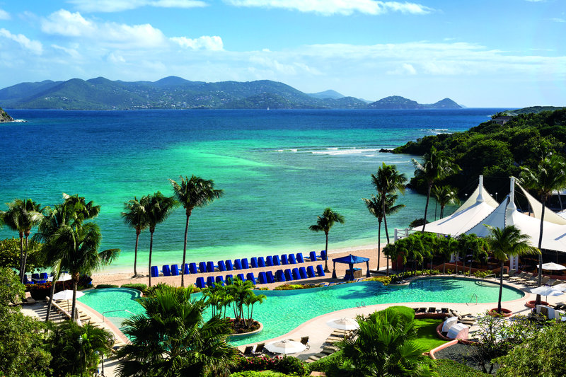 The Ritz-Carlton, St. Thomas 游泳池视图