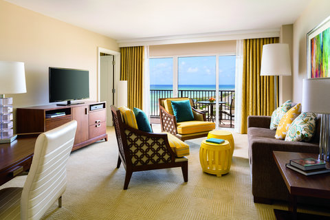 The Ritz-Carlton, Aruba - Partial Ocean View - Junior Suite