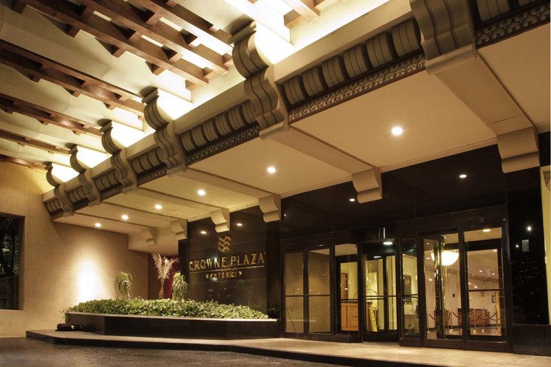Crowne Plaza Hotel Monterrey Fasad