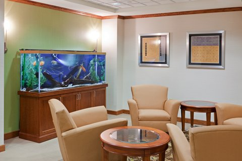 Holiday Inn Express & Suites WESTFIELD - Relax in our Hotel Lobby