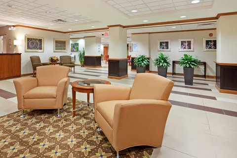 Holiday Inn Express & Suites WESTFIELD - Hotel Lobby