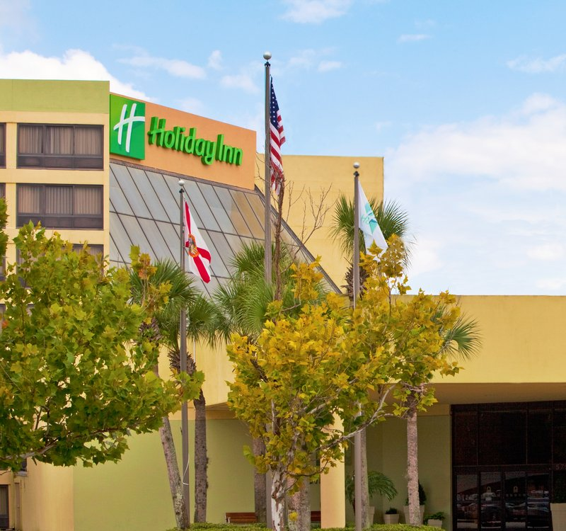 Holiday Inn Select Orlando-International Airport Vista esterna