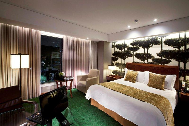InterContinental Coex Seoul Vista della camera