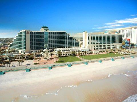 Hilton Daytona BeachResort-Ocean Walk Village - Hotel Exterior