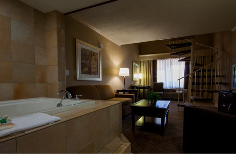 Holiday Inn EL PASO-SUNLAND PK DR & I-10 W - Superior Room - jacuzzi tub and king size bed