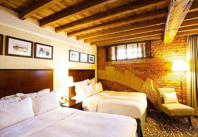 Manchester Marriott Victoria & Albert Hotel Vista della camera