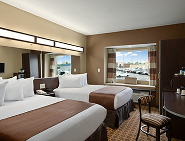 Microtel Inn & Suites by Wyndham Fairmont - Standard 2 Queen Room